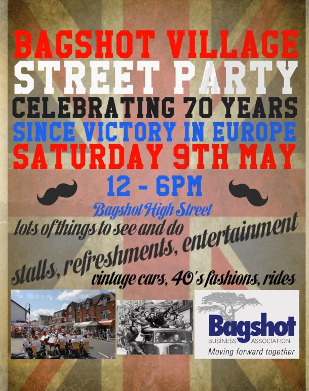 VICTORY IN EUROPE - Street Party 9th May