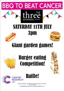bbq to beat cancer poster