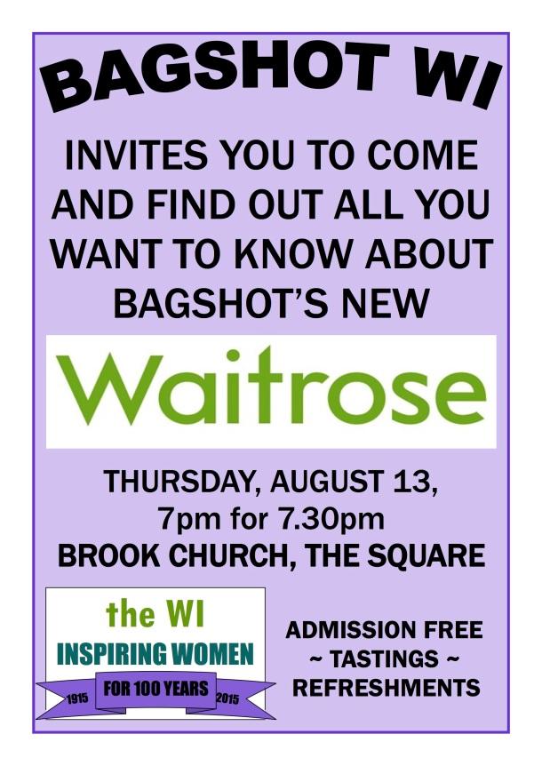 2015 WI Waitrose poster