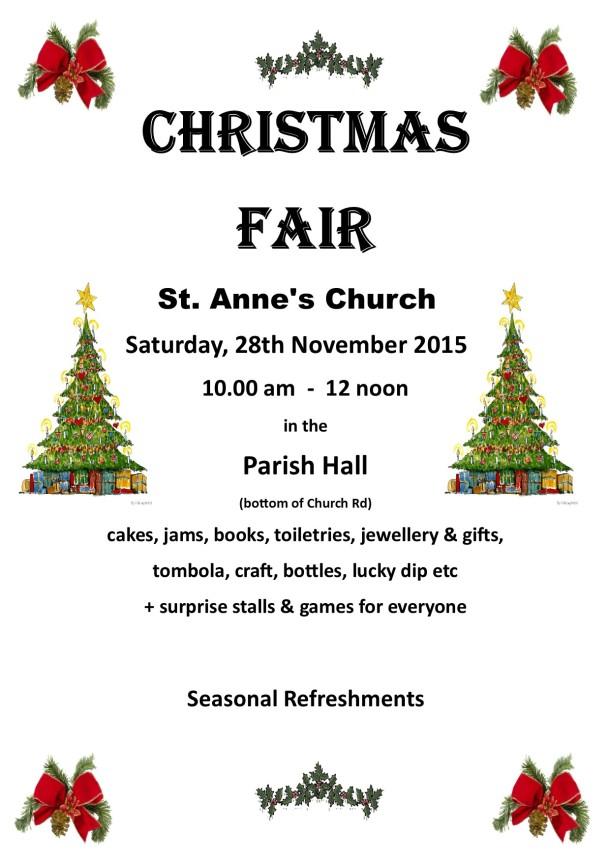 Christmas Fair 2015 Poster (3)