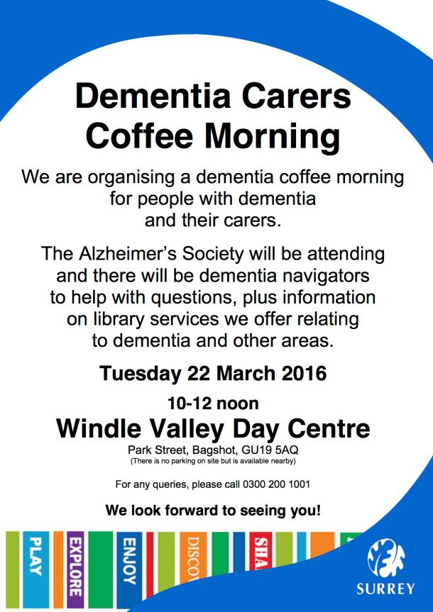 Dementia Poster