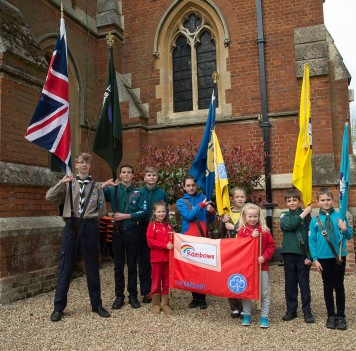 FIRST BAGSHOT SCOUTS AND GUIDES Bagshot 23 April-75 copy