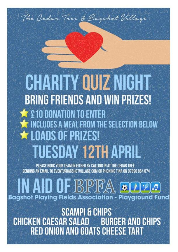 quiz night 12 april